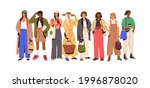 group of fashion people in... | Shutterstock .eps vector #1996878020
