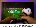 Man Play New Pes 2022 Football...