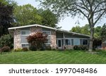 Variegated Brick House With...
