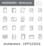 bookmark tag  label icons set...   Shutterstock .eps vector #1997123216