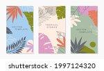 set of insta story templates... | Shutterstock .eps vector #1997124320