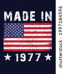 Made In 1977 Usa Betsy Ross...
