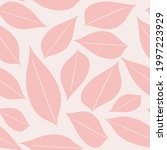 seamless baby pattern with pink ...   Shutterstock .eps vector #1997223929