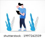 young people walking look...   Shutterstock .eps vector #1997262539