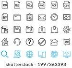 basic and universal vector... | Shutterstock .eps vector #1997363393