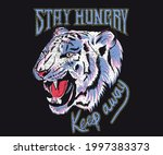 stay hungry animal t shirt...   Shutterstock .eps vector #1997383373