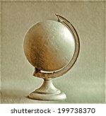 patina globe   illustration  | Shutterstock . vector #199738370