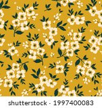trendy seamless vector floral... | Shutterstock .eps vector #1997400083
