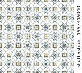 vector patterns set. seamless... | Shutterstock .eps vector #1997416040