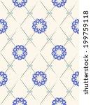 provence ornament | Shutterstock .eps vector #199759118