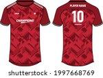 sports jersey t shirt design... | Shutterstock .eps vector #1997668769