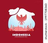 happy indonesian independence...   Shutterstock .eps vector #1997708360
