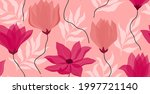 seamless pattern with abstract...   Shutterstock .eps vector #1997721140