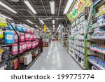 tokyo  april 11  people shop at ... | Shutterstock . vector #199775774