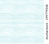 blue stripes watercolor...   Shutterstock . vector #199779548