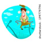 illustration of electrician... | Shutterstock .eps vector #199779794