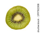 Small photo of Sliced kiwi fruit and Chinese gooseberry (Actinidia chinensis).
