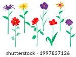 vector garden and field spring... | Shutterstock .eps vector #1997837126