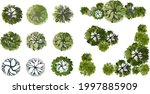 vector tree top view isolated... | Shutterstock .eps vector #1997885909
