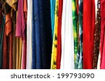 mix of indian multicoloured... | Shutterstock . vector #199793090