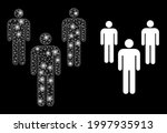 shiny mesh web men with... | Shutterstock .eps vector #1997935913
