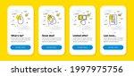 vector set of payment click ...