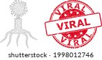 viral scratched seal imitation... | Shutterstock .eps vector #1998012746