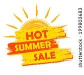 Hot Summer Sale Banner   Text...