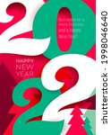trend colored red with green... | Shutterstock .eps vector #1998046640