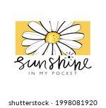 sunshine slogan text and... | Shutterstock .eps vector #1998081920