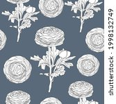 seamless pattern floral with... | Shutterstock .eps vector #1998132749