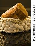 bread roll in basket  close up   Shutterstock . vector #199816364