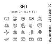 premium pack of seo line icons. ...