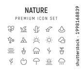 premium pack of nature line...