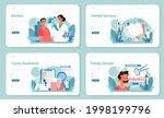dentist web banner or landing... | Shutterstock .eps vector #1998199796