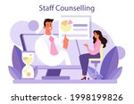 staff counselling concept....   Shutterstock .eps vector #1998199826