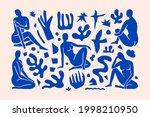 inspired matisse female figures ...   Shutterstock .eps vector #1998210950
