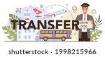 transfer service typographic... | Shutterstock .eps vector #1998215966