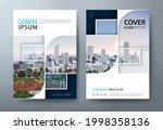 annual report brochure flyer... | Shutterstock .eps vector #1998358136