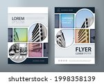 annual report brochure flyer... | Shutterstock .eps vector #1998358139