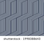 3d dimensional lined cubes...   Shutterstock .eps vector #1998388643