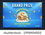grand prize anniversary...   Shutterstock .eps vector #1998404003