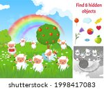 find hidden objects. kids... | Shutterstock .eps vector #1998417083