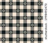 gingham check plaid pattern.... | Shutterstock .eps vector #1998492470