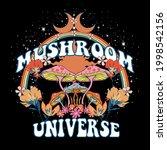 70's retro groovy slogan print... | Shutterstock .eps vector #1998542156