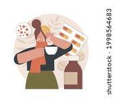 seasonal flu abstract concept...   Shutterstock .eps vector #1998564683