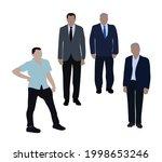 set of vector images of men in...   Shutterstock .eps vector #1998653246