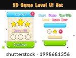 game ui set. a complete menu of ...