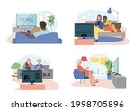 diffetent families  couples ...   Shutterstock .eps vector #1998705896