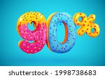 90 percent off. discount... | Shutterstock .eps vector #1998738683